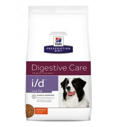 Hill's Dieta Caine i/d Digestive Care Low Fat, 12kg