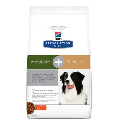 Hill's Dieta Caine Metabolic & Mobility