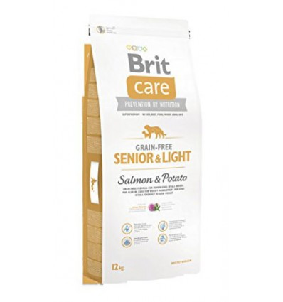 Brit Care Senior Somon & Cartofi, 12kg