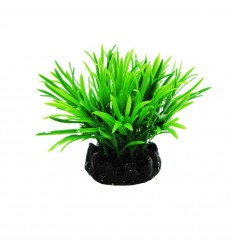 Resun Planta Acvariu Plastic Sea Grass Dark Green, 10 cm