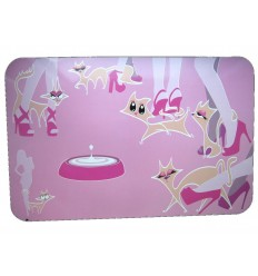 Pad Castron Pisici Glamour Pink